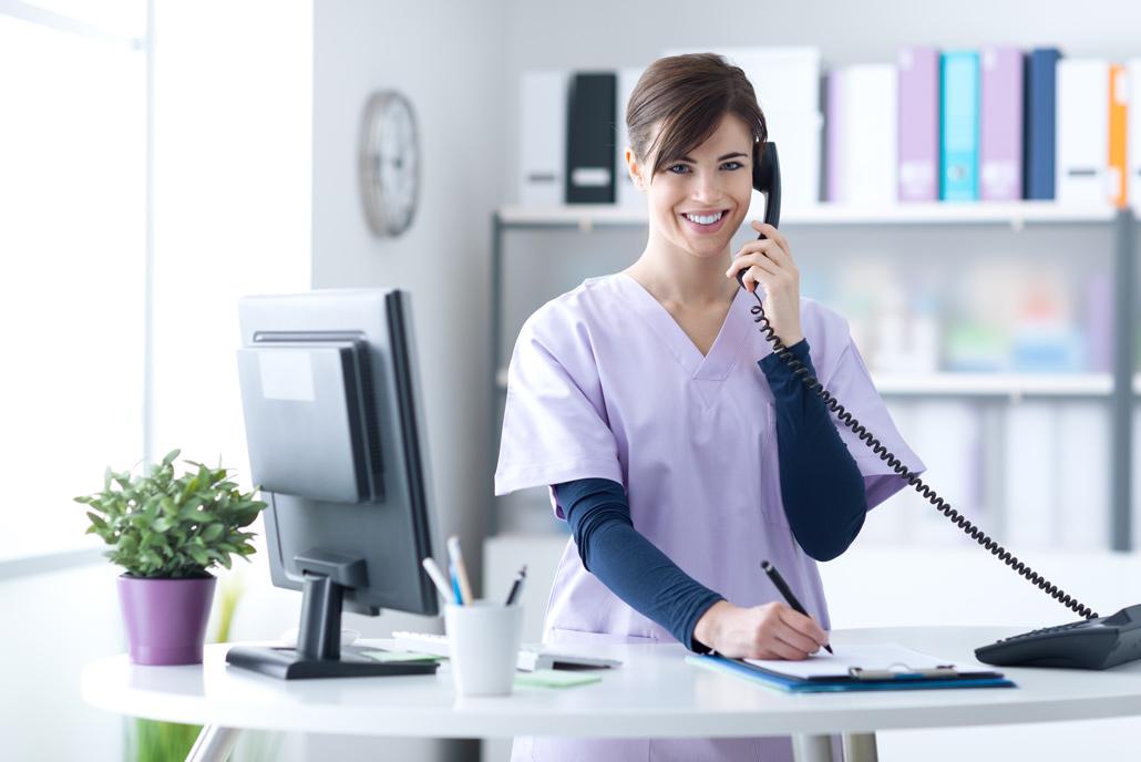 Telefontraining für Praxis und Klinik