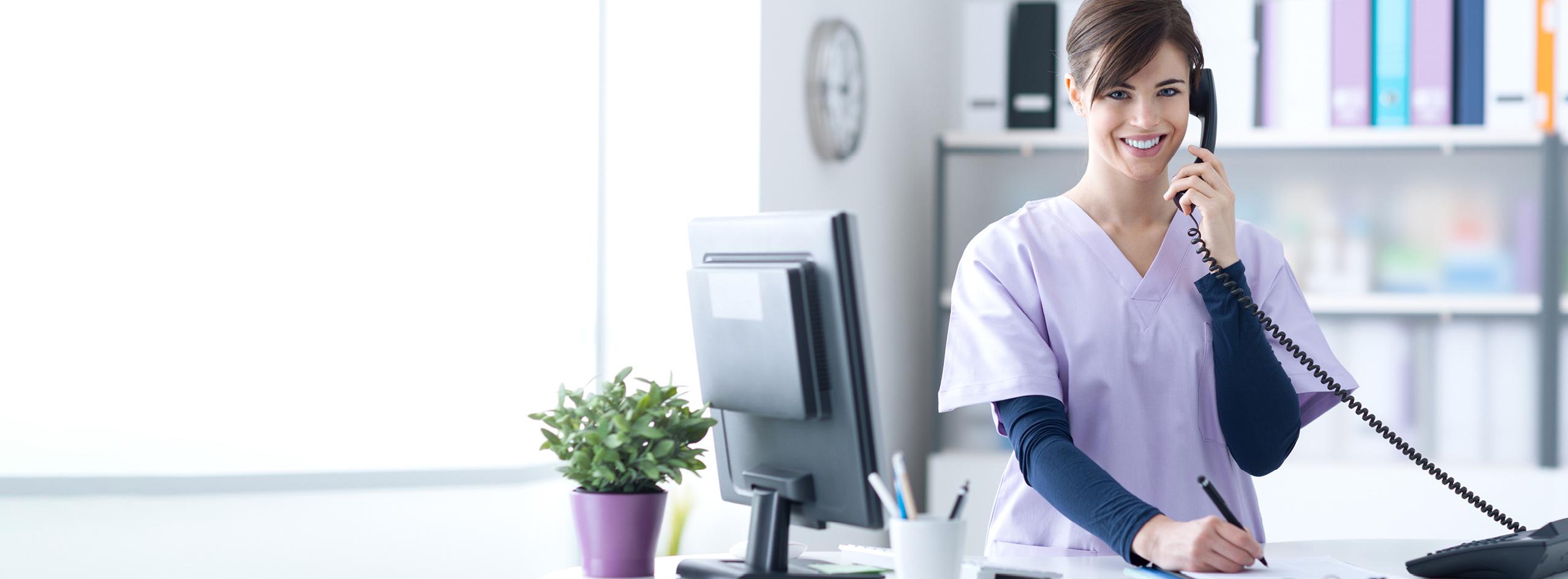 Telefontraining Arztpraxis